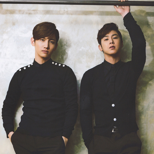 Former boy group, now duo TVXQ