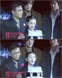 """[News/Trans] 130912 U-Know Yunho Sulli Past, Unchanged Warm Visual """"Remained the Same Just GrownUp"""""""